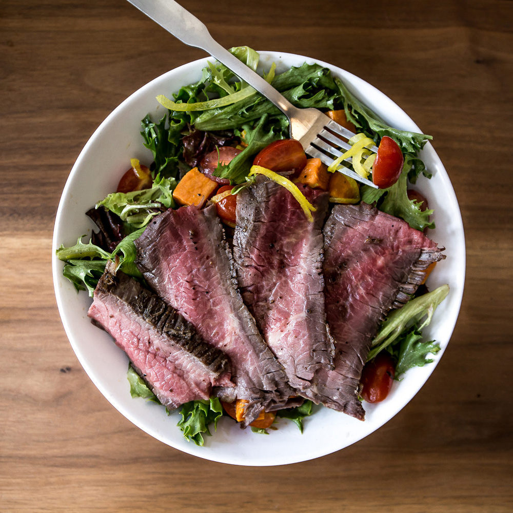 Ritters steak salad
